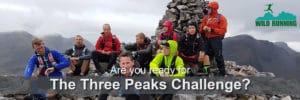 Three peaks challenge - Wild Running