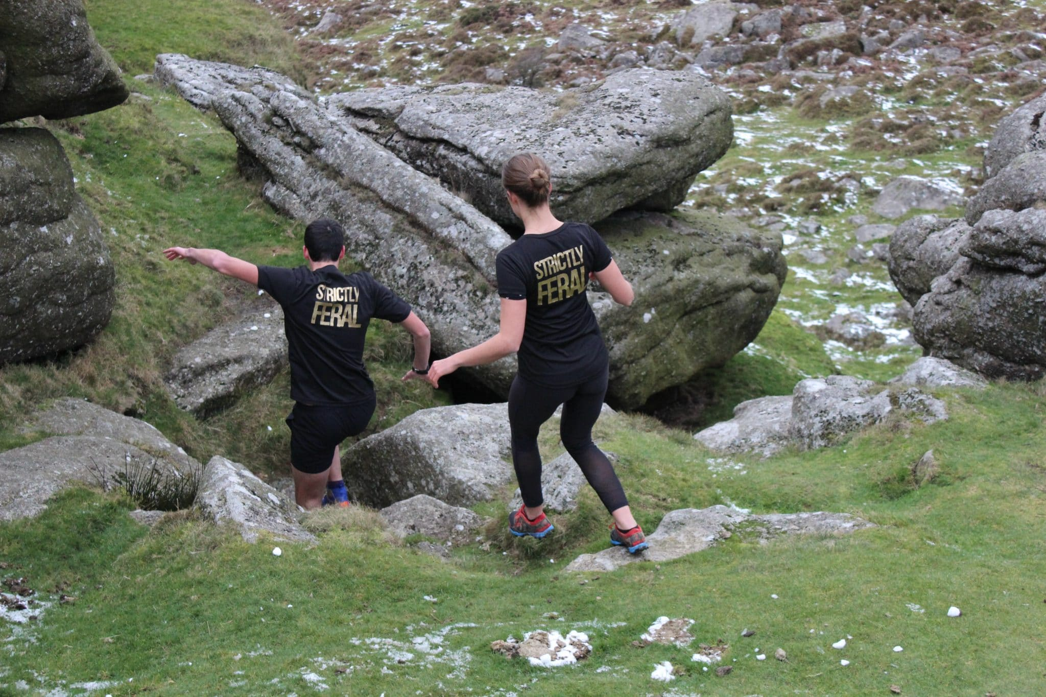 Wild Running technical tshirts Jack & Camilla