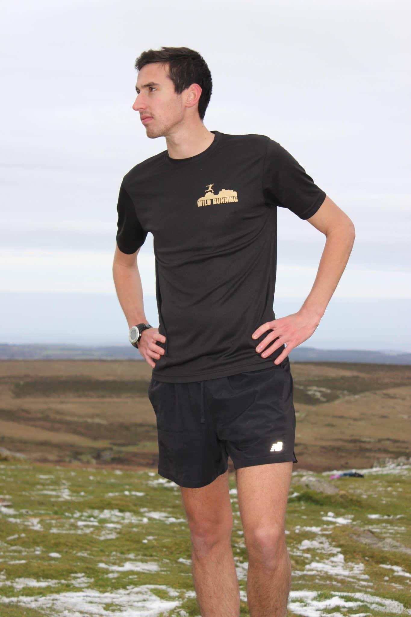 Wild Running technical tshirts man