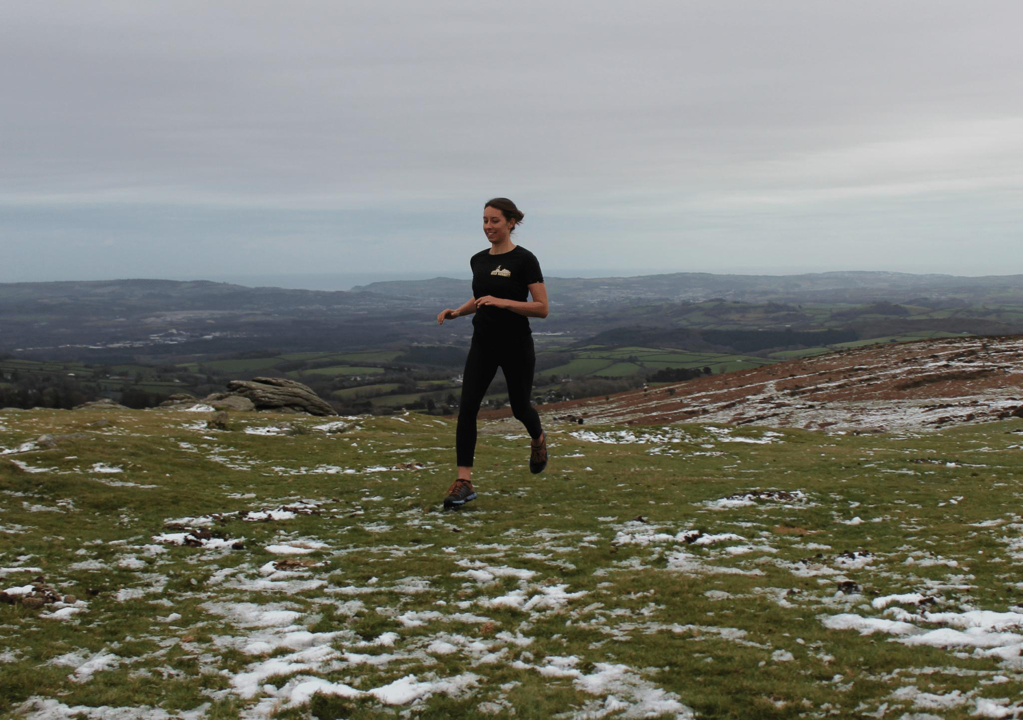Wild Running technical tshirts woman
